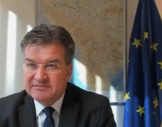 Lajçak shpjegohet për hartën në zyrën e tij: Nuk doja të ofendoja askënd
