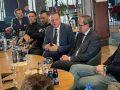 Pireva takohet me sportistët elitar, ua shpalos programin e LDK-së