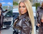 Adelina Tahiri e veshur me një kombinim perfekt
