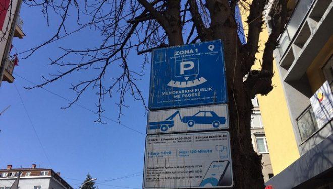 Çmimore e re për parking në Qendër të Prishtinës, banorët rezident do të paguajnë 10 € në muaj
