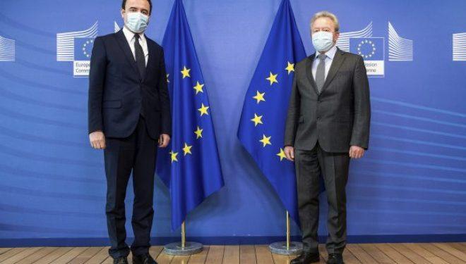 Kurti takon Komisionerin Evropian për Agrikulturë në Bruksel