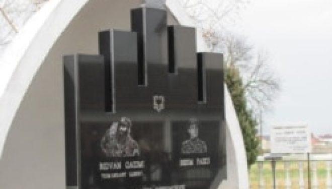 Komandant Lleshi me memorial në jug të Serbisë