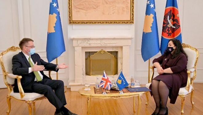 Osmani në takim me Abbott: Orientimi afatgjatë strategjik i Kosovës mbetet anëtarësimi në NATO