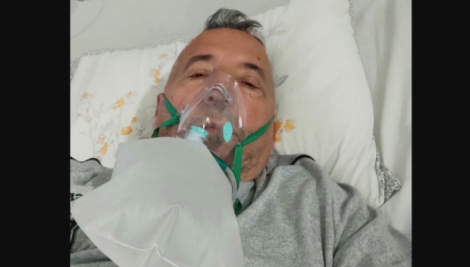 Gazetari Binakaj lajmërohet nga Klinika e Mushkërive: Për 12 orë vdiqën 2 persona që i kisha në dhomë