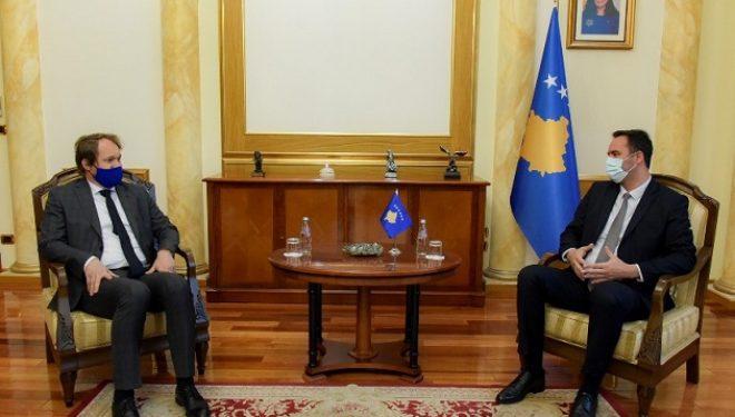 Konjufca i kërkon Sllovakisë ta njoh pavarësinë e Kosovës
