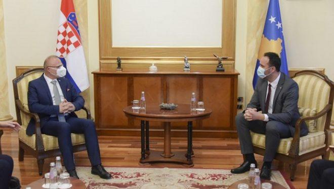 Konjufca priti në takim ministrin e Jashtëm kroat, fiton mbështetje në rrugën euroatlkantike