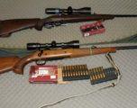 Konfiskohen armë të mbajtura pa leje dhe arrestohen 2 persona të dyshuar