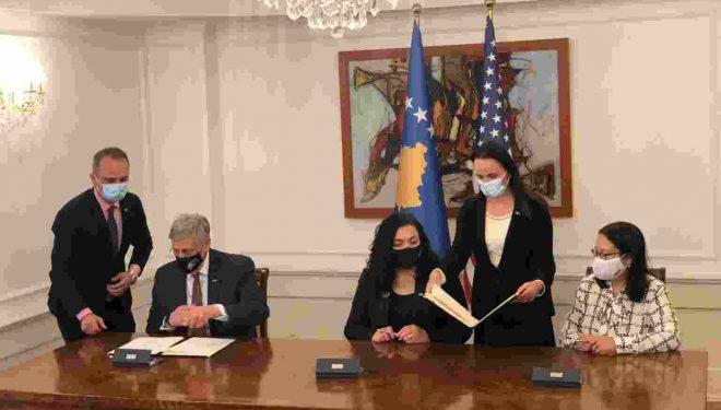 Kosova nënshkruan marrëveshje me USAID me vlerë prej 1.6 milionë dollarë