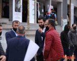 Deputeti i VV-së pjesëmarrës në marshin ku në kor u brohorit kundër Izraelit