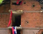 E turpshme: Flamuri serb vendoset mes flamujve të shqyer kuqezi në kullën e vrojtimit në Koshare