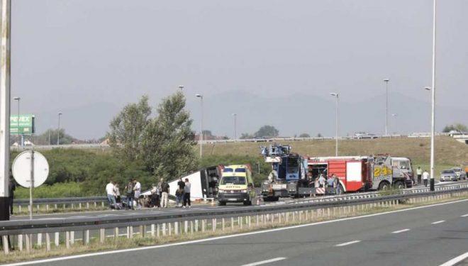 Flet djali i axhës së shoferit që dërroi jetë në aksidentin në Kroaci