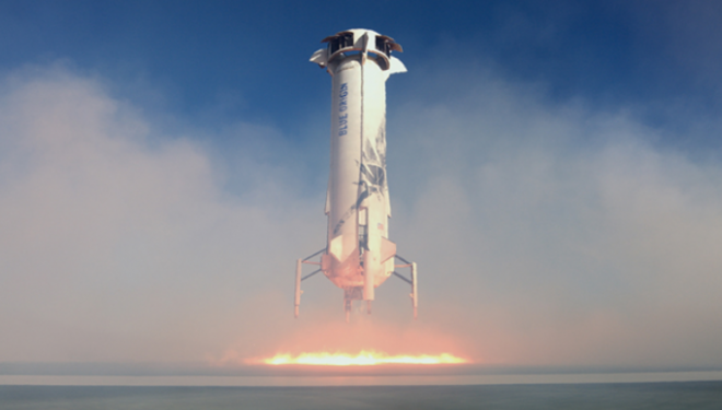 Lëshohet raketa, Jeff Bezos dhe ekuipazhi i Blue Origin nisen për në hapësirë