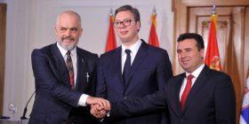 Këto janë tri marrëveshjet që u nënshkruan nga Rama, Zaev dhe Vuçiq