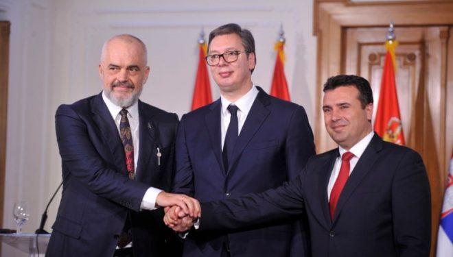 """""""Mini-Shengeni Ballkanik do të quhet """"Open Balkan"""""""