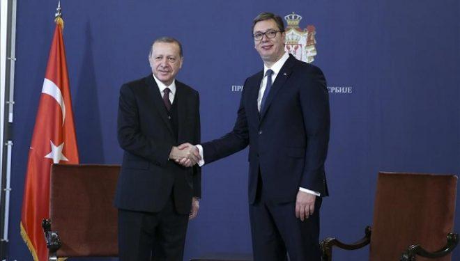 Vuçiq: Erdogani më tha se është e rëndësishme të arrihet një zgjidhje kompromisi me Kosovën