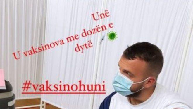 Mozzik merr dozën e dytë të vaksinës