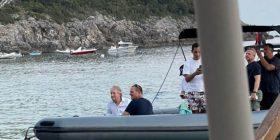 Këngëtari serb Bregoviq po pushon me Richard Grenell në jug të Shqipërisë