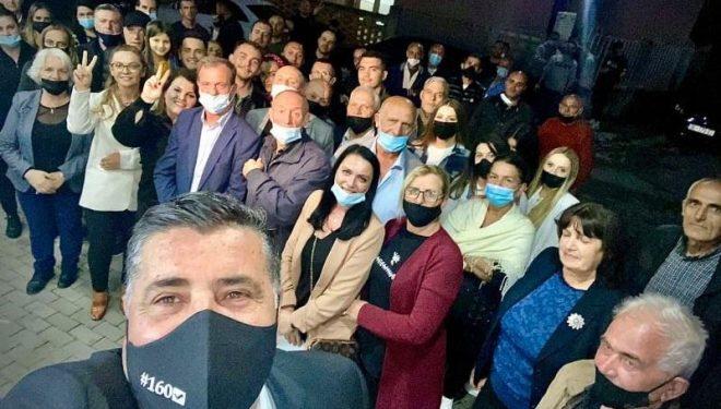 LDK e Gjilanit pushton terrenin, përkrahje masive për Lutfi Hazirin nga Baja e Dheu i Bardhë