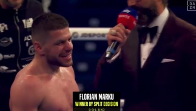 I papërsëritshmi Florian Marku, e mund boksierin ukrainas dhe shpallet kampion
