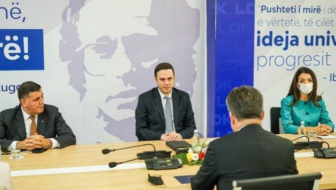 Haziri: Nga Lajçak kërkuam qartësi, përkushtim dhe siguri më të madhe në dialog (VIDEO)