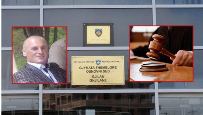 Dënohet me 25 vjet burg polici që vrau qytetarin në Gjilan