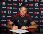 Ronaldo nënshkruan marrëveshjen me Man Utd