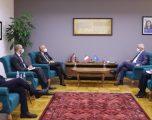 Ministri Sveçla priti në takim ambasadorin e ri italian, Antonello De Riu