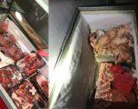 Iu gjetën mbi 200 kg mish me cilësi të dyshimtë, policia e arreston një person në Fushë Kosovë
