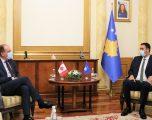 Konjufca priti në takim ambasadorin e Kanadasë, Alan Bowman